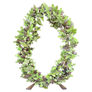 Metal Ceremonial Wreath from France