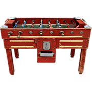 Vintage Soccer Game Table from France.