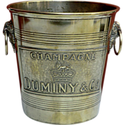REDUCED Rare Champagne Bucket from France.