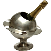 Exceptional & Rare 'Saturn Ring' Champagne Bucket