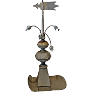 Early French Roof Spire with Weather Pennant