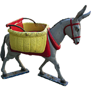 Rare Carousel Donkey from France