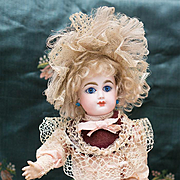 "13 1/2"" Antique All Original French Bisque Bebe by Gaultier in Appealing Size"