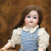 "16"" (40 cm) Antique German Bisque Child by Kammer and Reinhardt with Pretty Antique Origi"