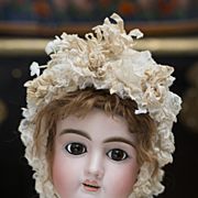 "SALE PENDING 25"" (64 cm) Antique French Bisque Bebe Doll by Jullien, c.1895"