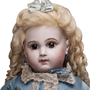 """20"""" Very Beautiful Antique French Early Bisque Bebe E.J. Doll by Emile Jumeau in ..."""