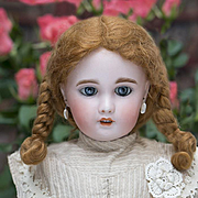 "SALE PENDING 21"" Antique French Bisque Bebe DOll by SFBJ /Jumeau Paris 8, Beautifully dresse"