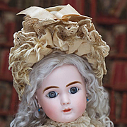 Antique French Pretty Wide-Eyed Bisque Bebe Steiner Doll, Figure A.Paris, 1889