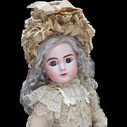 Antique French Pretty Wide-Eyed Bisque Bebe Steiner Doll, Figure A.Paris, 1889