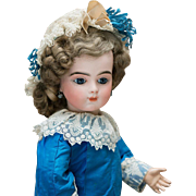 "19"" (49 cm) Very Beautiful Antique French Bisque Bebe Bru doll with Original Body and ..."