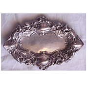 SALE Unger Sterling Victorian Griffin Pin Tray