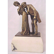 "SALE ""The Cardiologist"" Vienna Bronze Naughty by Carl Kauba"