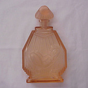 "SOLD Hoffmann Czech Perfume Bottle ""The Sun Bather"" - Circa 1930"