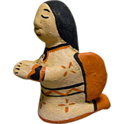 Vintage Cochiti Pueblo Storyteller Angel by Rufina Trujillo
