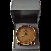SALE Vintage Carat Horlogers de Precision Travel Alarm Clock