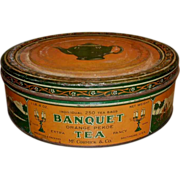 SALE Banquet Tea Advertising Tin - McCormick Baltimore