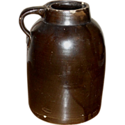 SOLD c.1890 - 1900 Stoneware Storage Jar - Fruit Crock