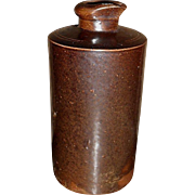 c. 1880 Stoneware Ink Bottle - Stephens Aldergate S London