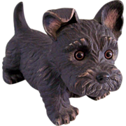 SOLD Scotty Dog Figurine Enesco Purebred Pets by Kathy Wise