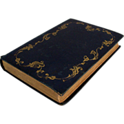 """SOLD Antique Book """"Flowers; their moral, language, and poetry"""" by Henry Gardiner Ada"""