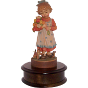 SOLD Figural Music Box