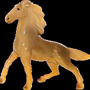SOLD Morten's Studio Prancing Palomino Horse