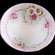 Bohemian Porcelain Footed Serving Dish Pirkenhammer Titanic Austria 19th C