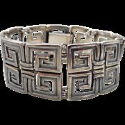 Early MARGOT de TAXCO Sterling Silver Bracelet Design #5112