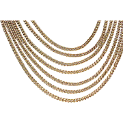 08 - Monet 7 Strand Necklace - Classic Look