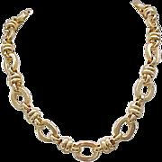 04 - Chunky Goldtone Necklace - Chic