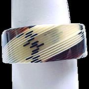 09 - Laminated Bracelet - Earth Colors - Small Wrist