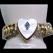 Co-Star Sweetheart Expansion Bracelet - Heart Center