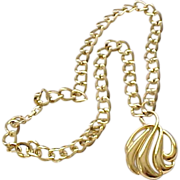 Large Napier Necklace with Pendant