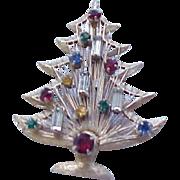 Christmas Tree Candle Tree Pin