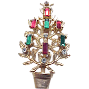 Lovely Christmas Tree Candle Pin - Book Piece
