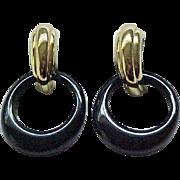 Trifari Earrings Interchangeable - 5 Hoops - MIB