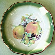 Antique Staffordshire Mayfayre Pottery Bowl