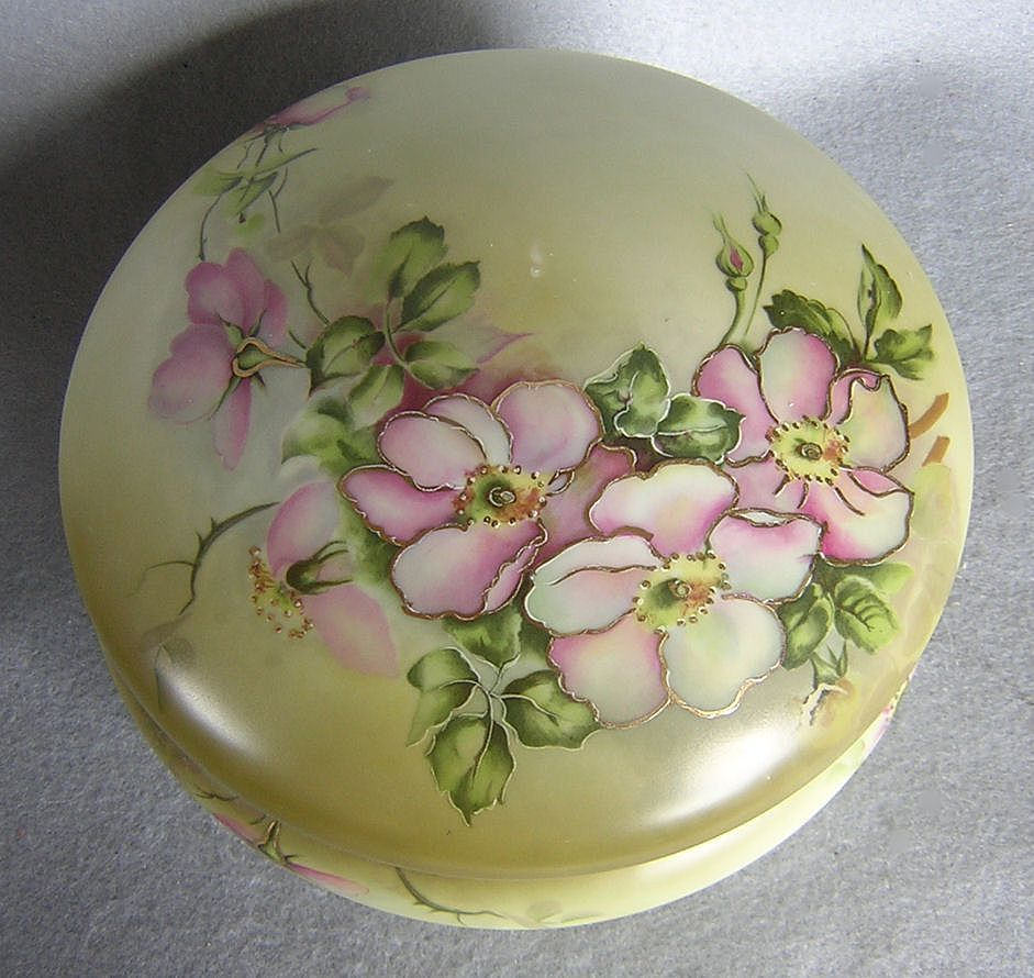 Nippon Porcelain Covered Box From Rlreproshop On Ruby Lane