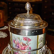 Carltons Fantasia Ware Biscuit Barrel