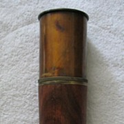 1882 Stanley-London Brass Telescope