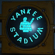 Incredibly Rare 1950s Yankee Stadium Subway Traffic Signal LFE Corporation Automatic Signal Di