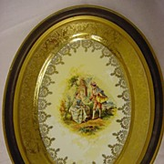 22 Kt. Gold Plaque Made In U.S.A.
