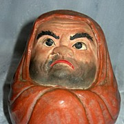 Antique Oriental Terracotta Rolly-Polly Man