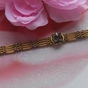 c1900's Rolled Gold Bracelet