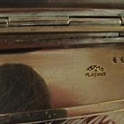 Silver Plate Cigarette Case