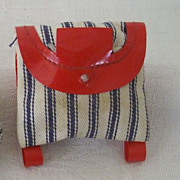 Doll Backpack Holds Tiny Canteen