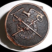 Copper Military Collar Cuff Button