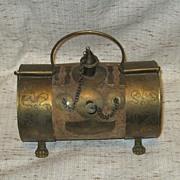 Brass on Cork Thing
