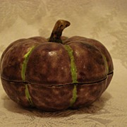 Cloisonne Covered Fruit Dish