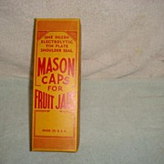 Mason Caps for Fruit jars
